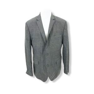HUGO BOSS Men Sport Coat Reda Super 110 44R D11